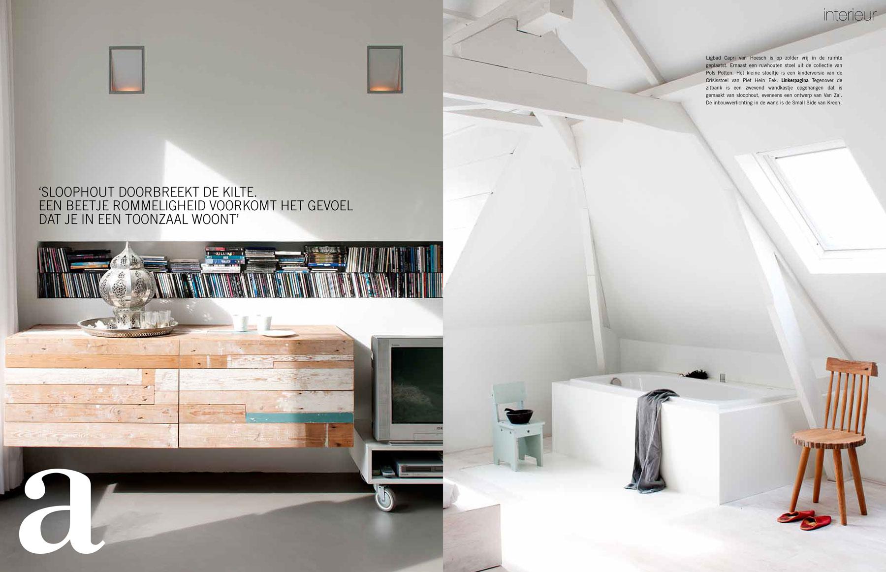Een Sloophout Interieur : Eigen huis interieur u marco van zal