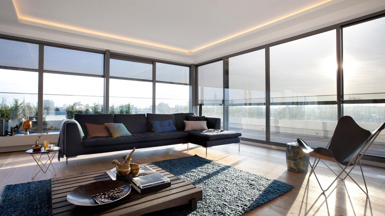 penthouse woonkamer